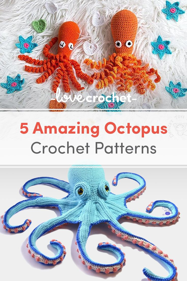 Why you need to crochet an octopus! | LoveCrafts, LoveKnitting's New Home #crochetoctopus