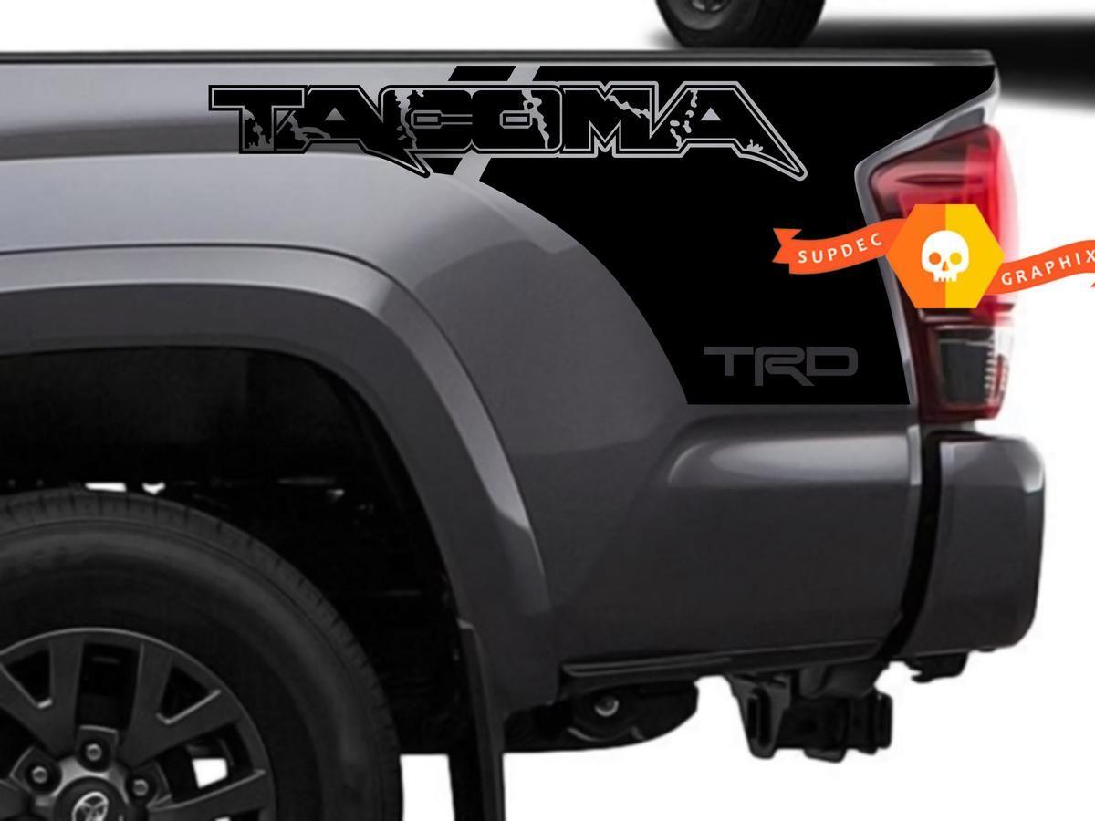 Toyota TRD sport Mountain Truck Tacoma Tundra 2016 2017 Vinyl Decal 2 Sticker TD