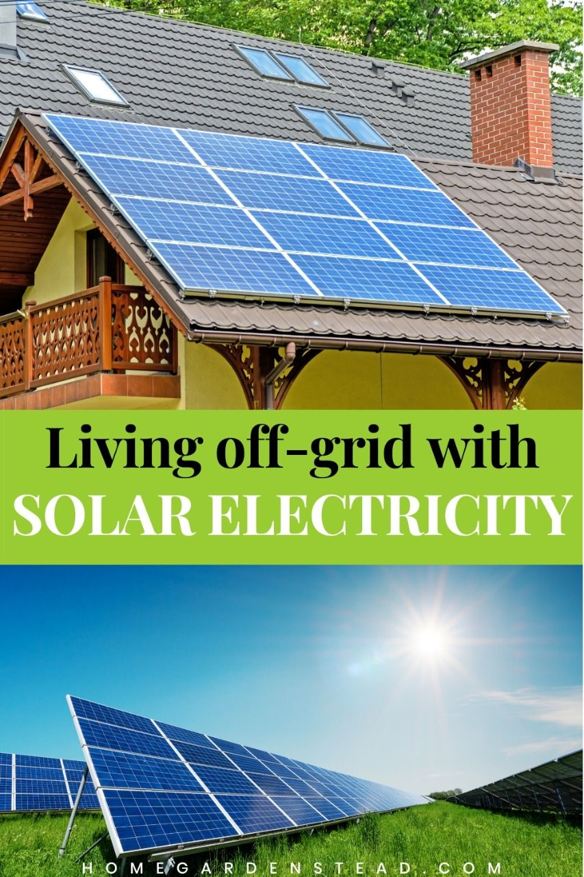 How many solar panels to power a house off grid