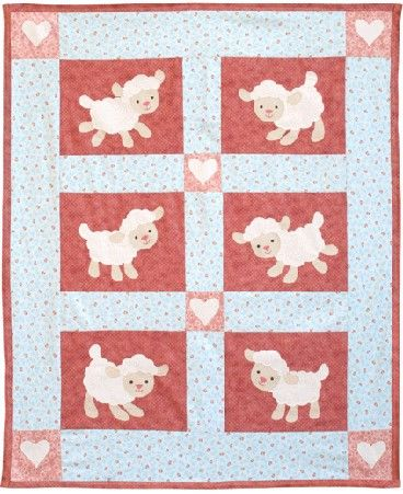 9e991ce512363d Lovable Lambs Quilt Pattern-Lovable Lambs Quilt Pattern