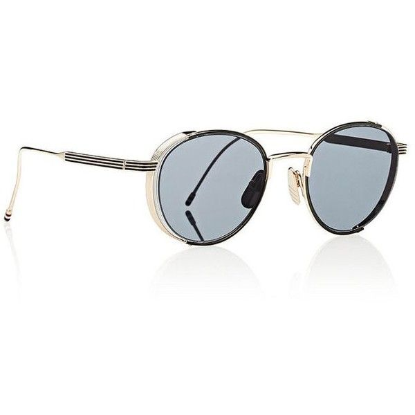 1ca352791031 Thom Browne Aviator Sunglasses ( 435) ❤ liked on Polyvore featuring men s  fashion