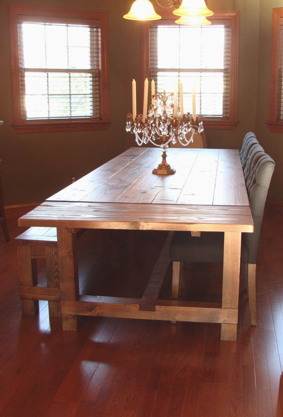 Sensational Farm Table And Bench Set With Breadboard Ends And Company Download Free Architecture Designs Scobabritishbridgeorg