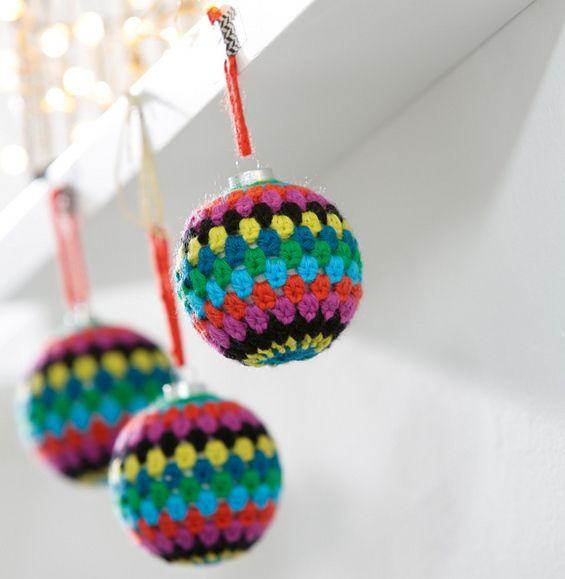 Navidad patrón de la bola multicolor - Modelos libre Accesorios ...