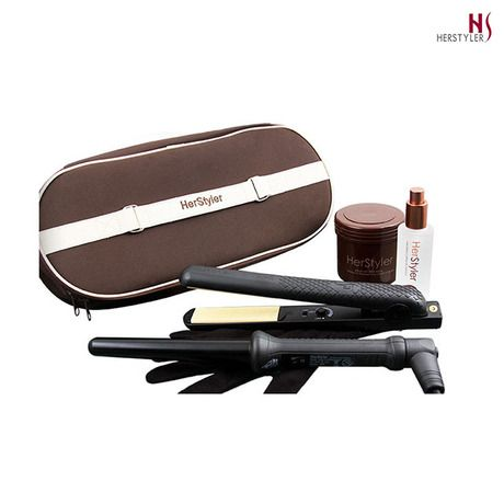 15-Piece Set: Herstyler Argan Oil Styling System at 15% Savings off ...