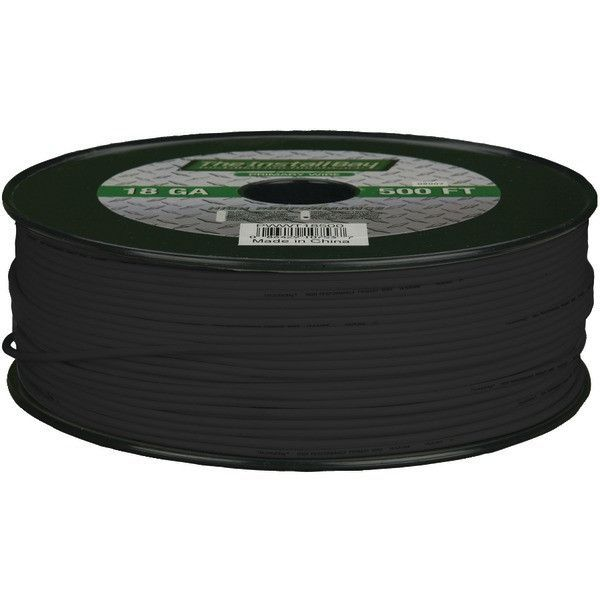 18Ga Prmry Wire 500Ft Blk