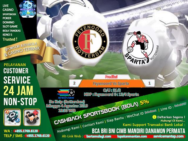 Prediksi Feyenoord Vs Sparta Rotterdam Belanda