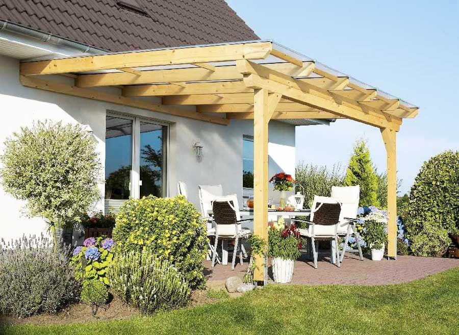 Terrassenüberdachungen Aus Metall Und Glas ~ Terrasse terrassenüberdachung holz glas mit fuß aus robustem