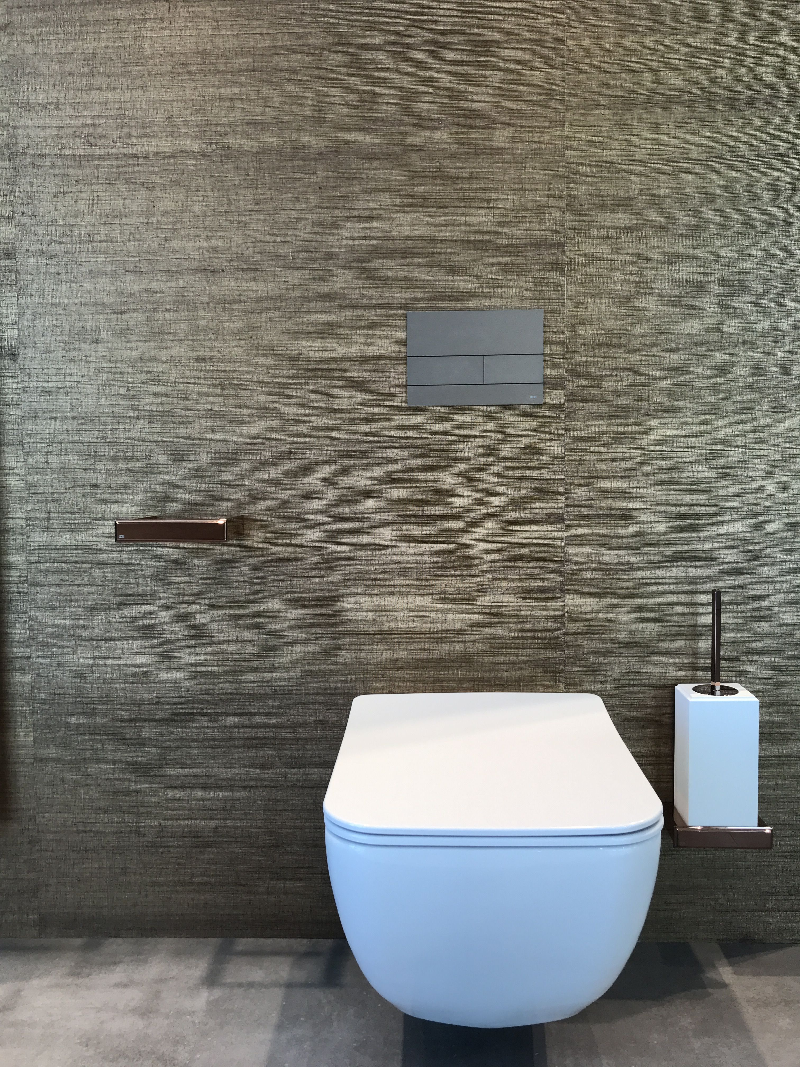 A Guest Toilet May Be Small In Size But There S No Reason Why It Can T Be Big On Style Gaste Wc
