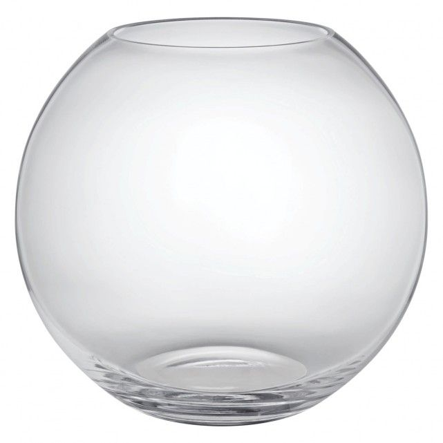 Boll Clear Round Glass Vase Round Glass Rounding And Glass