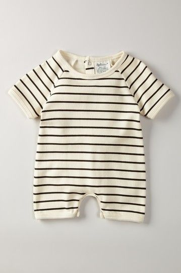 4c368458e SoftBaby Organic Cotton Short Sleeve Romper