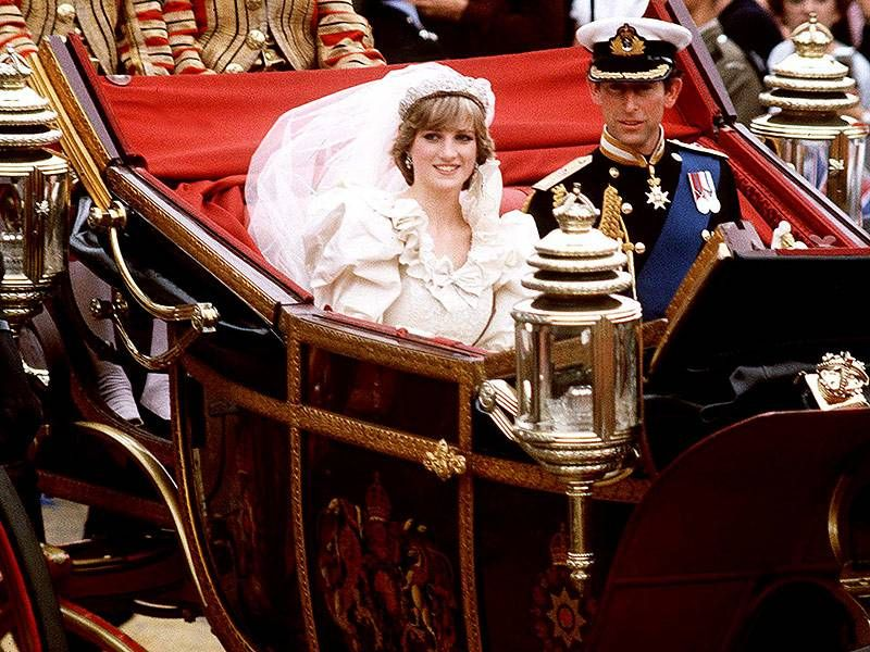 Prince Charles and Princess Diana's Royal Wedding 35 Years