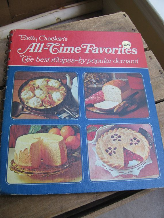 Betty Crocker's AllTime Favorites 1971 Sixth by MyVintageTable, $8.00