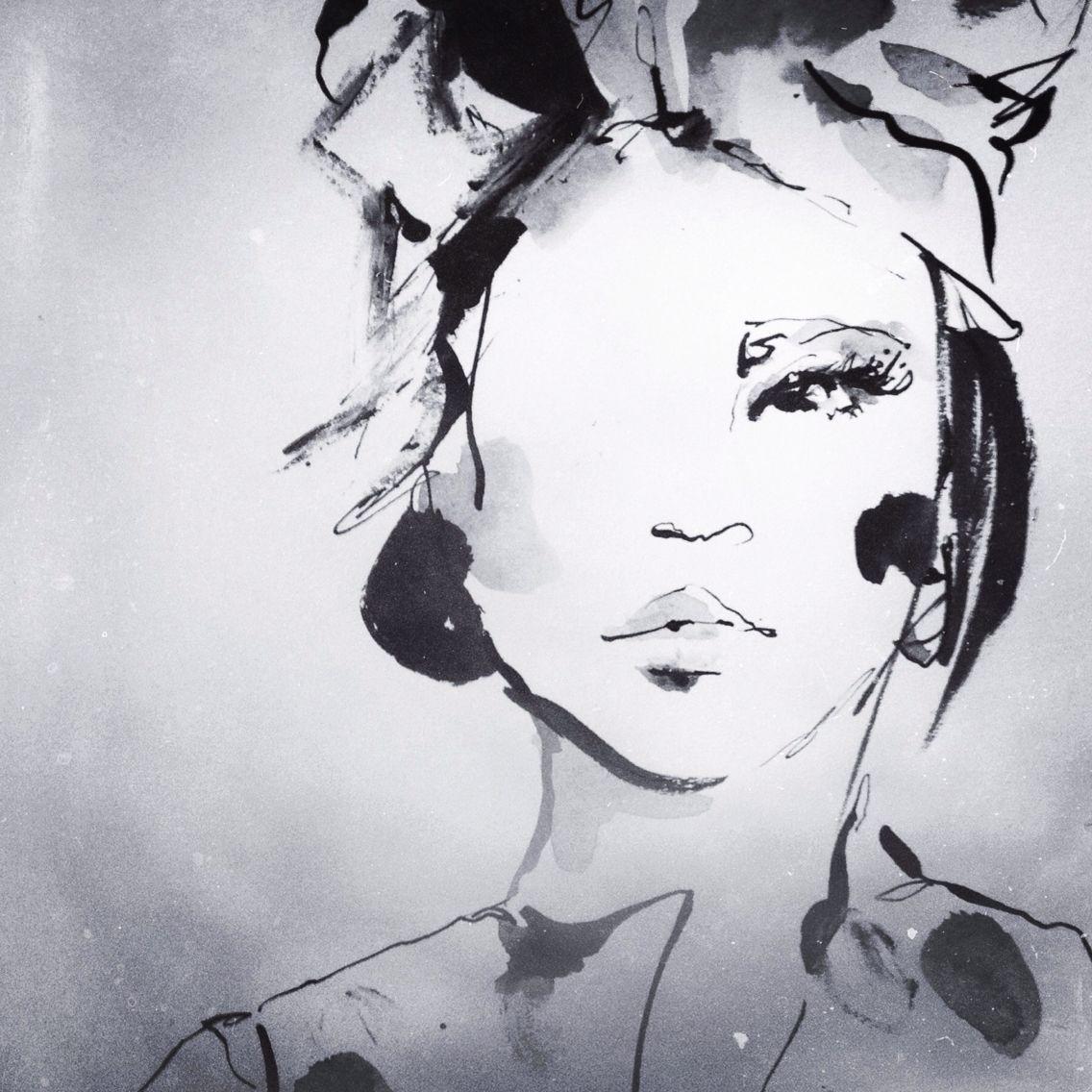 Fashion Ilration Stylish Sketch Anna Wand