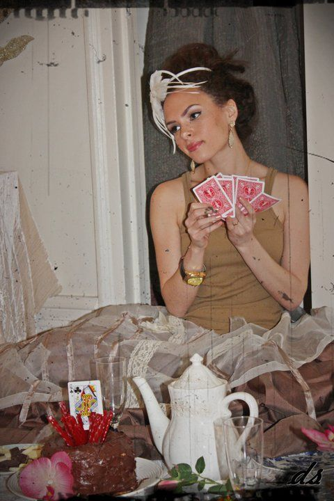 Poker face!