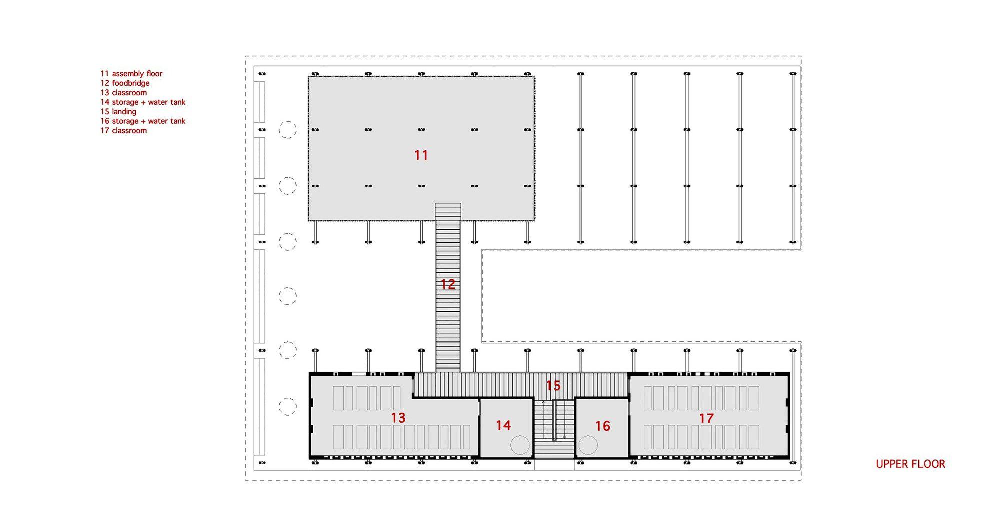 Gallery Of Pani Community Centre Schilderscholte Architects 25 Architect Floor Plans Wood Architecture