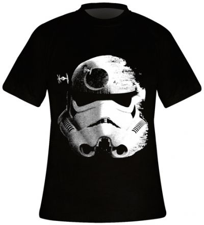 T-Shirt Mec STAR WARS - Stormtrooper Death Star www.rockagogo.com