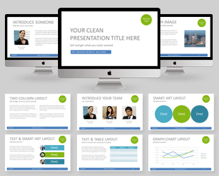 Free Abstract Arrows Modern Powerpoint Template  Powerpoint