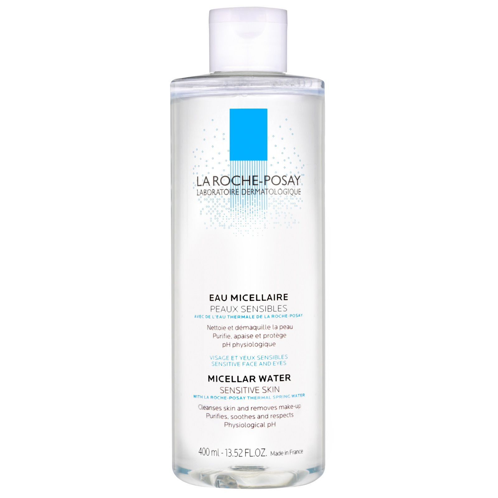 La Roche Posay Cleansing Micellar Water 400ml This Cleanser Gently Eliminates Impurities And Removes Makeup Micellar Water Micellar Cleansing Water Micellar