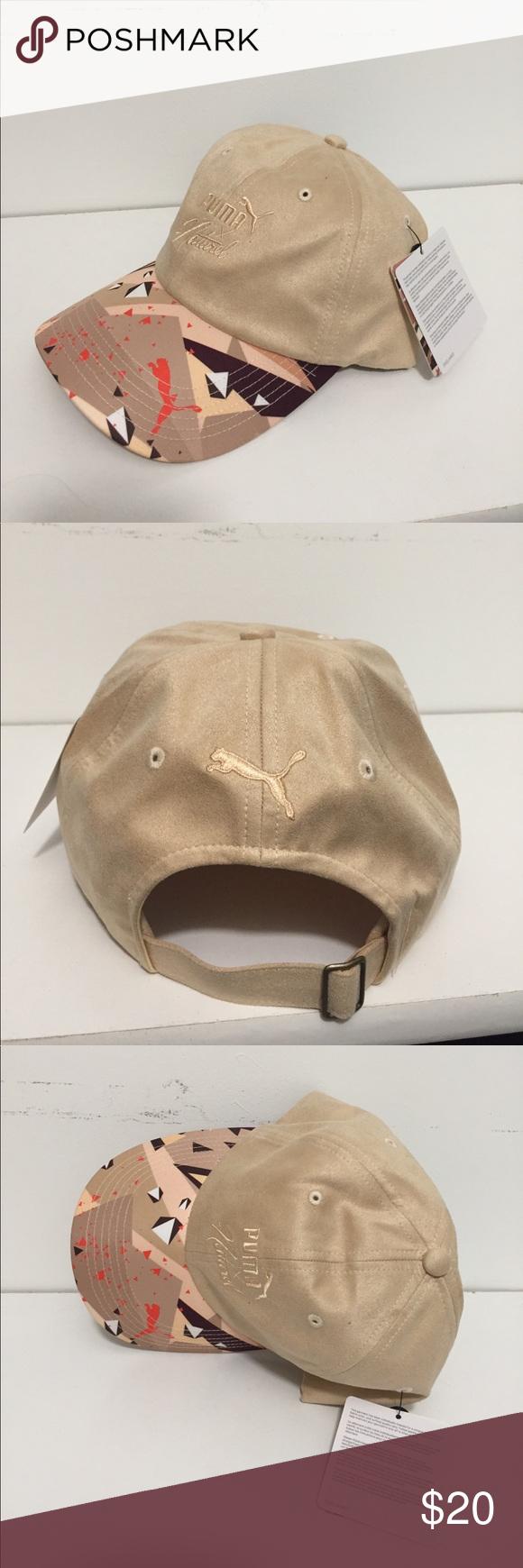 a9b3e22133da0f PUMA hat Natural collection NWT