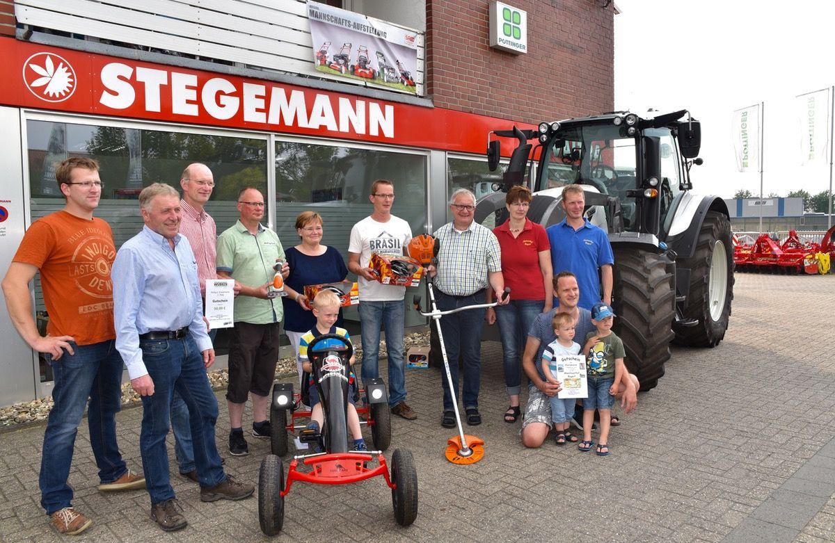 Die Gewinner des Hofquiz vom offenen Hoftag in Billerbeck