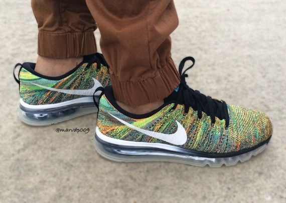 Air Flyknit  multicolor