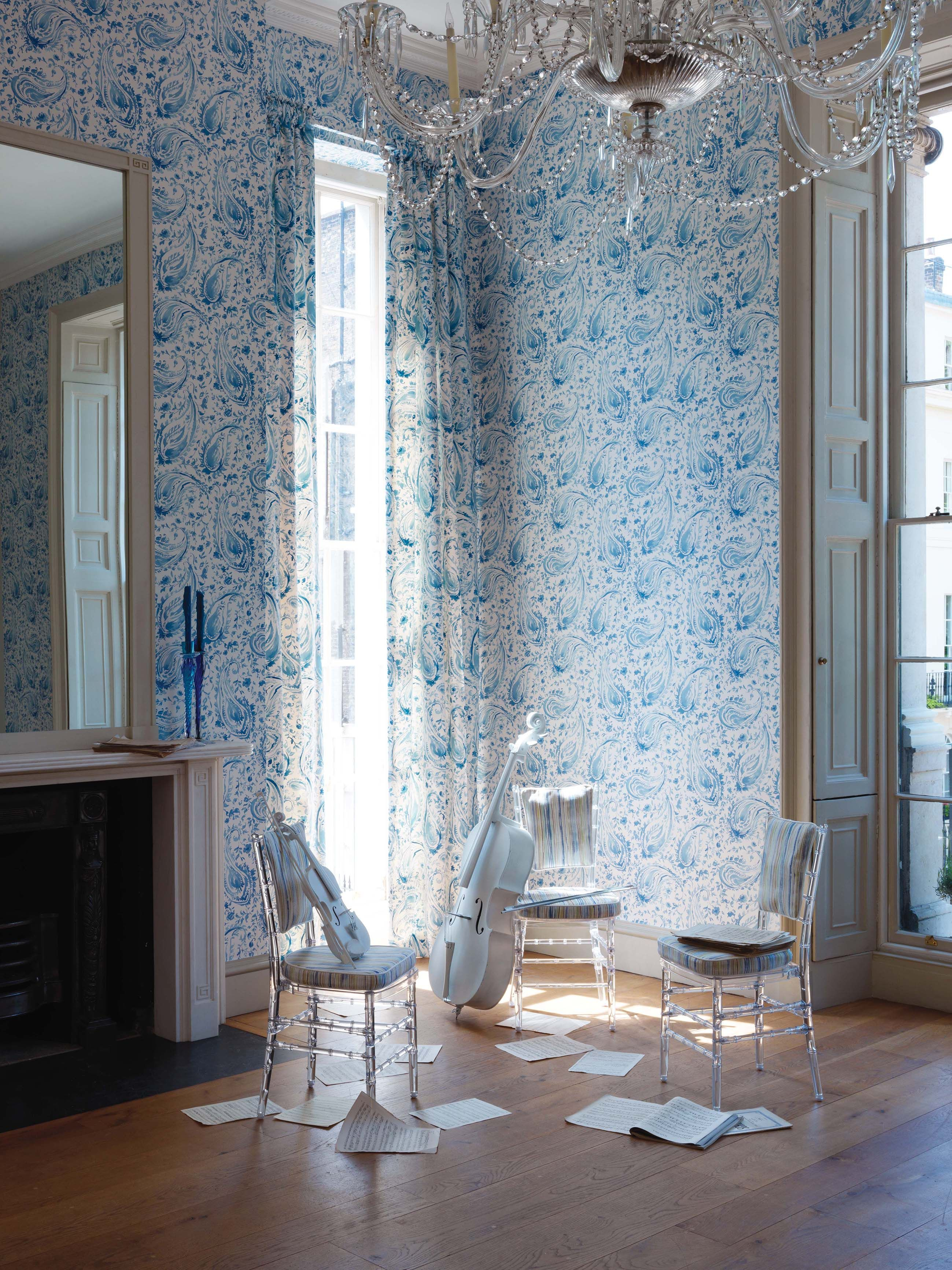 d4f2c38dddcb8 Pamir collection by Nina Campbell - available from Rodgers of York   interiors  wallpaper