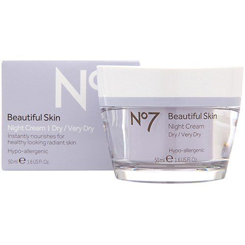 Boots No 7 Beautiful Skin Night Cream Dry Very Dry 16 Oz Read More At The Image Link Note It Cream For Oily Skin Skin Cleanser Products Beautiful Skin