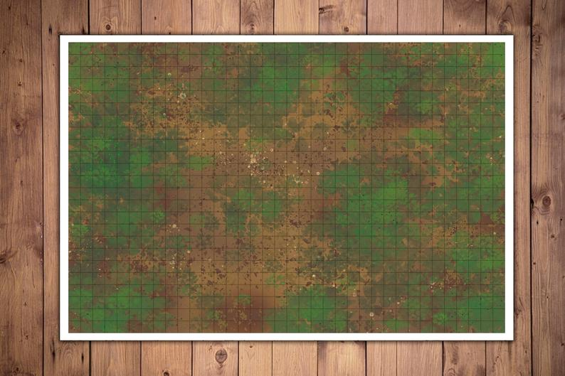 Durable 2x3ft Gaming Mat With 1 Inch Battle Grid For Tabletop Rpgs Like Dnd Pathfinder And Gurps Dungeons And Dragons Grid Game Battle