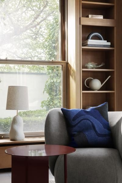 Ferm Living Hebe Lamp Base Medium Ceramic Off White  - Trouva