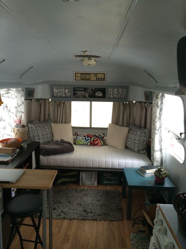 20 Vintage Camper Interior Ideas for Pop Up Camper  pop