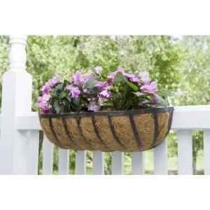Cobraco 24 In Metal Adjustable Flat Wire Horse Trough Planter