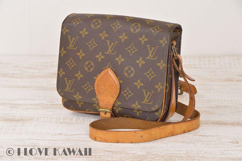 581d24f4391e Louis Vuitton Monogram Cartouchiere MM Shoulder Bag M51253
