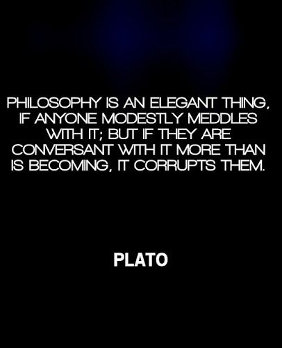 From Google+. Plato quote