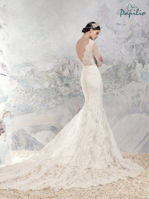 Moderne Brautkleider mit angesagtem Rückenausschnitt: http ...