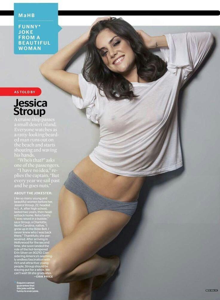 sexy Jessica stroup