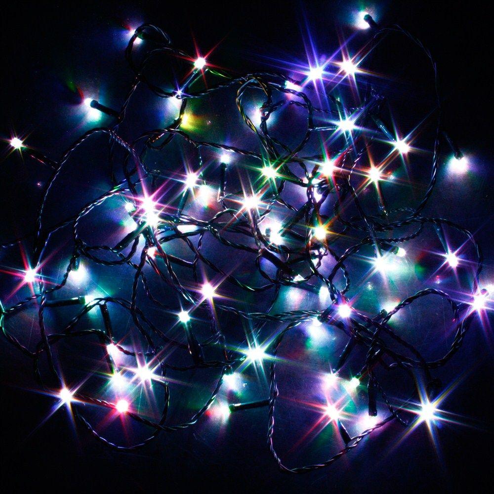 Guirlande lumineuse 7 couleurs changeantes 128 led