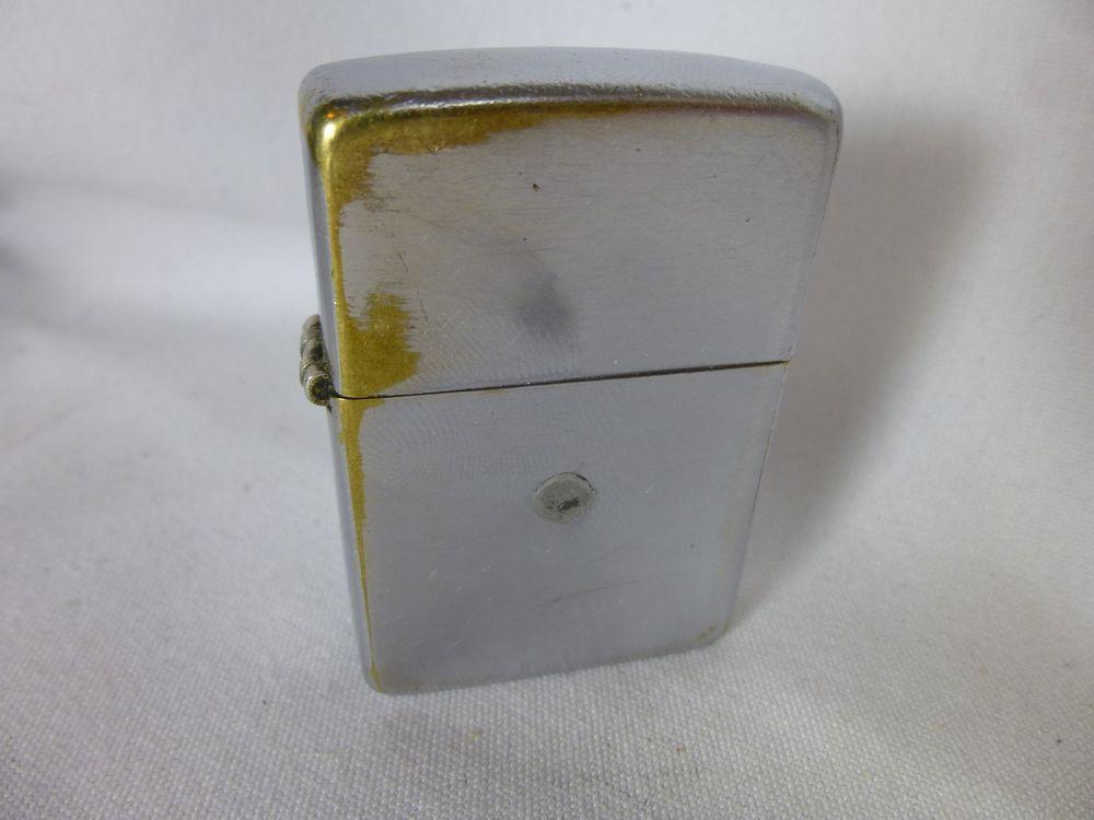 Zippo Lighter 1940 S 2032695 Brushed Chrome Vintage 2517191 Insert Zippo Lighter Zippo Lighter
