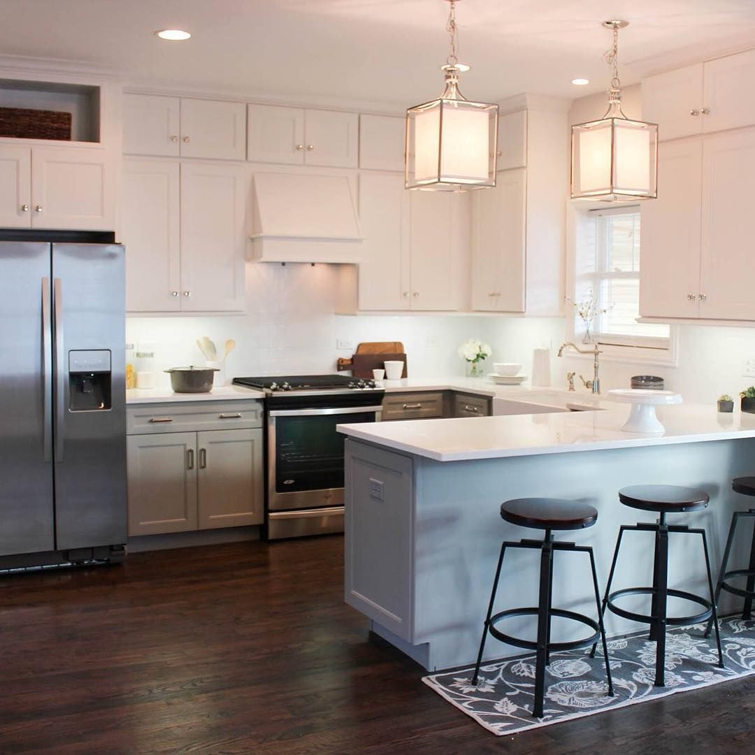 Before And After Of This Beautiful Open Concept Kitchen: 15 Great Design Ideas For Your Kitchen