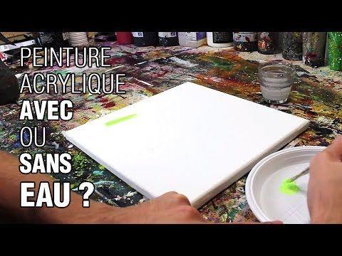 Peindre A LAcrylique Un Paysage Avec Reflets Sur LEau Simple Et