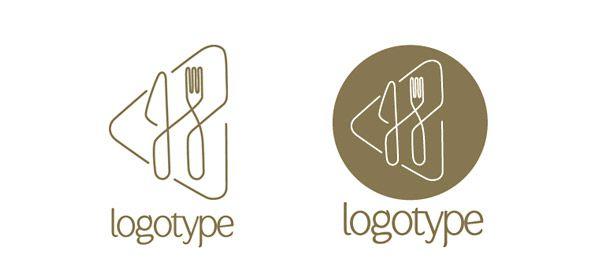 restaurants logos design