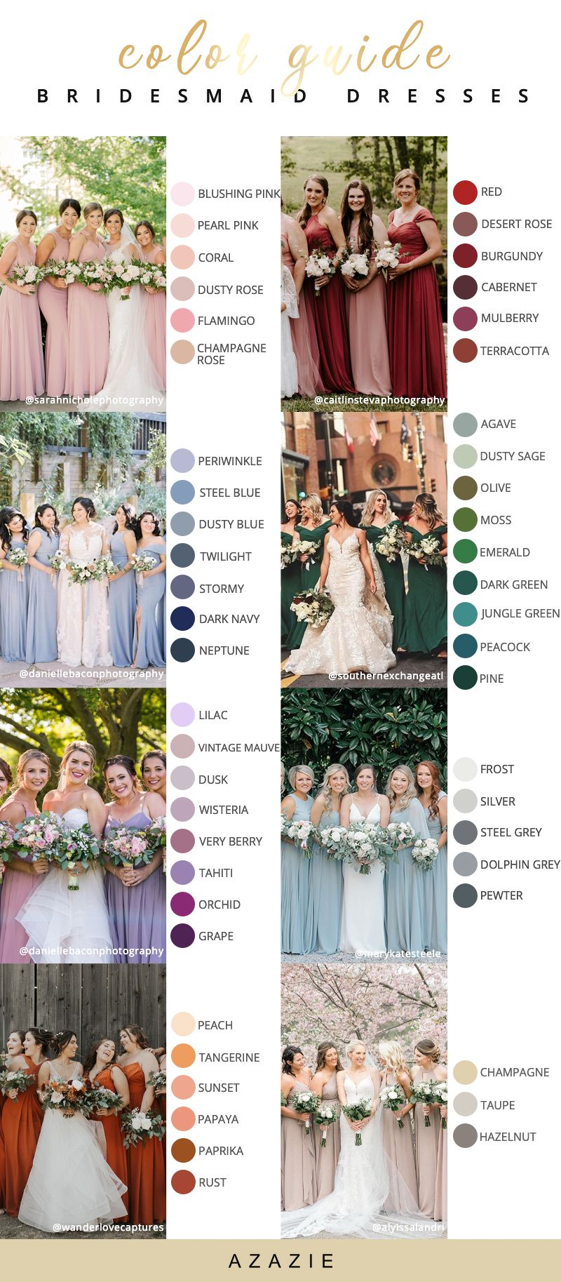 Elegant Spring Summer Bridesmaid Dresses Summer Bridesmaid Dresses Bridesmaid Dress Colors Wedding Bridesmaid Dresses [ 1827 x 800 Pixel ]