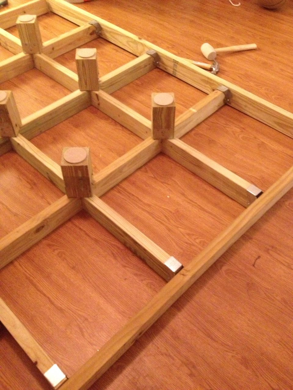 This Is The Platform Where The Box Springs Will Lay O