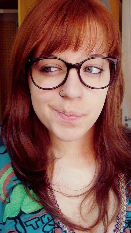 a6027696ac73c ruivas de oculos - Pesquisa Google   I love glasses