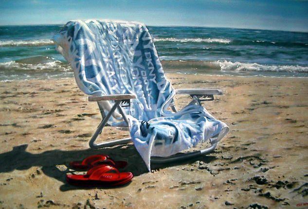 Silla en la Playa Summertime Pinterest En la playa, La playa - sillas de playa