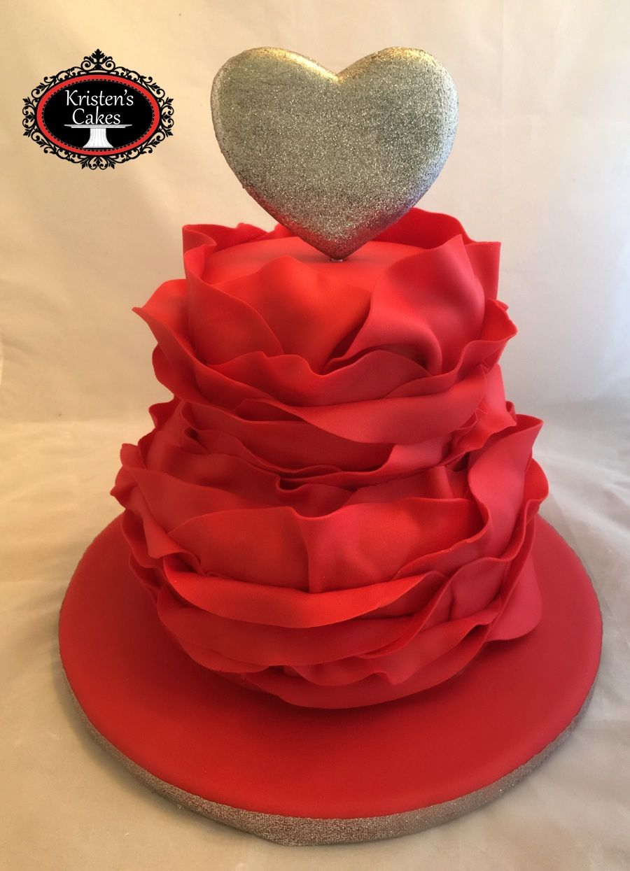 Heart Cake Valentines Day