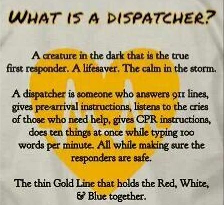 What Is A Dispatcher Memories Of A Previous Career Recognizing