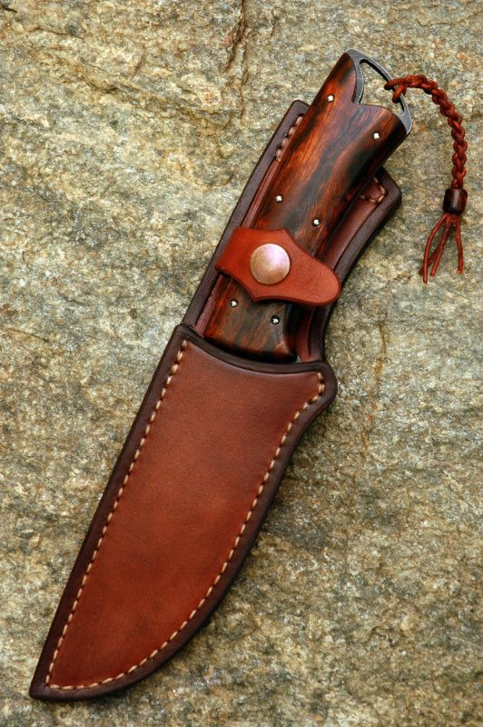 Knives From The Workshop Of Roman Blaha Leather Knife Sheath Pattern Knife Sheath Leather Holster