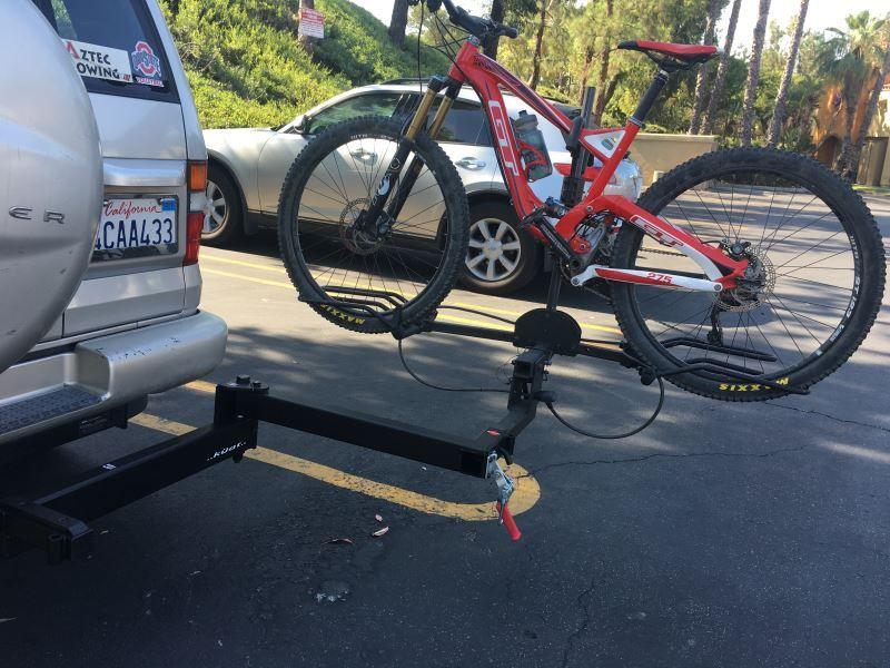 Kuat Pivot Swing Away Hitch Extender For Bike Racks 2 Hitches