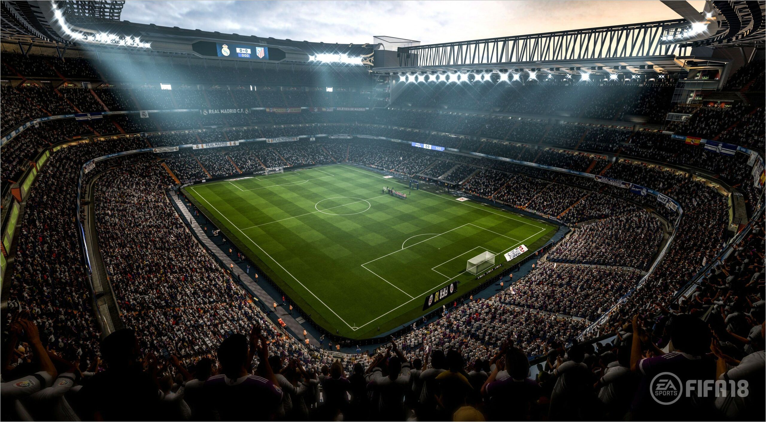 Wallpaper 4k Para Pc Esstadio 2019 In 2020 Soccer Video Games Fifa Soccer