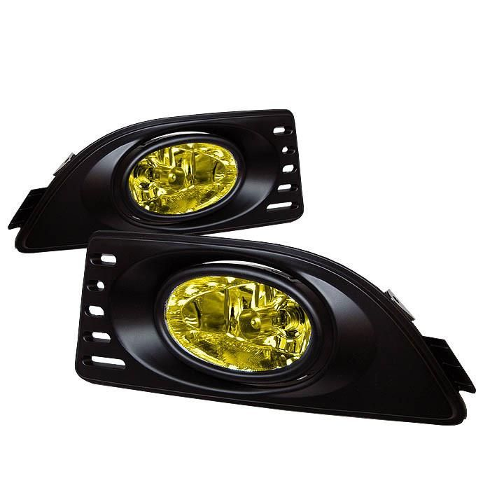 Acura RSX 05-07 OEM Fog Lights W/Switch - Yellow